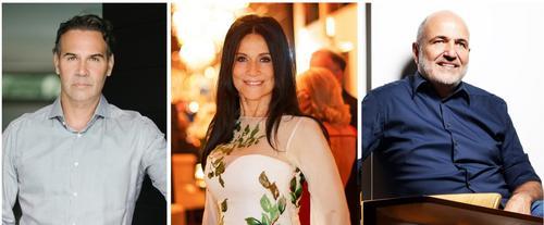 Marcos Soares, Ilse Lambach e Jayme Bernardo: eles fazem as festas mais luxuosas de Curitiba